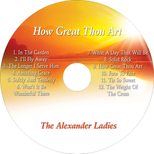 CD-How Great Thou Art