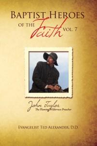 Baptist Heroes of the Faith Vol 7 Taylor