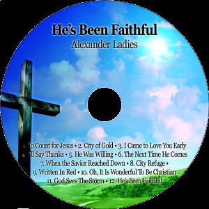 CD-He's Been Faithful