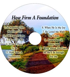 CD-How Firm A Foundation